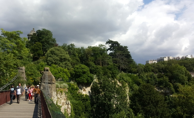Parc Buttes Chaumont Paris